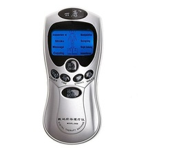 Digital therapy machine acupuncture body massager, powered by 3 * AAA batteries or USB adapter.(China (Mainland))