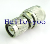 Wholesale UHF to TNC adapter UHF male plug to TNC male plug coax connector adapter Free shipping