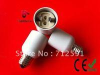 Free shipping, Hot selling,E27 to G12 Base Ceramic holder base Ceramic adapter G12 LED Light E27 Change Socket