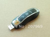 Wholesale retail genuine 4gb/8gb/16gb/32gb car key flash drive plastic shape pen drive usb flash drive Free shipping