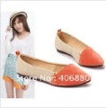 Best selling!!Low heeled flats shoes woman Pointed head sweet flat shoes Free shipping 1pair