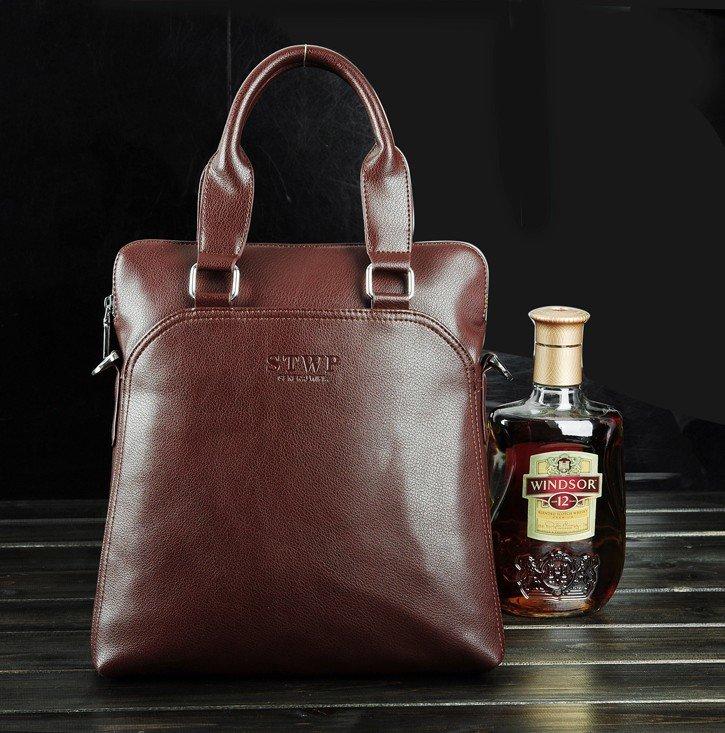 Hot genuine leather men tote bags top branded handbags fashion men traveling bag fashion purse(China (Mainland))