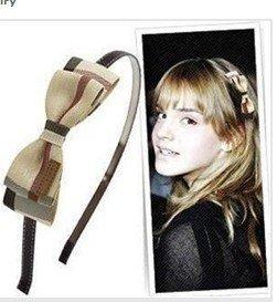 (mix order) $15 At Least Fashion Sweet Girl Korean Fabrics Bow-knot Sponge Hairbands /Jewelry F17