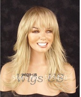 Free Shipping>>>BRAND NAME WIG Light Blonde mix Long Layers