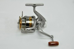 Wholesale fishing reels SG - 5000A fish round metal 6 Ball bearing spinning reel 5.1:1 fishing tackle 1PCS free shipping(China (Mainland))
