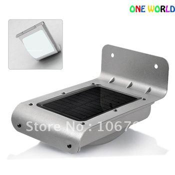 Christmas New Motion Detection PIR Solar Powered Wall Lamp 16 LEDs Lights / Light/Motion Sensor Lighting Outdoor