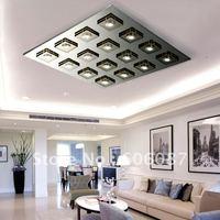Modern fashion led ceiling light living room lights bedroom lamp restaurant lamp brief led crystal ceiling light