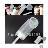 MIN$30 Wholesesale-free shipping 50pcs/lot push up pop containers cupcake push up containers