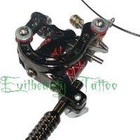 New Design Mini Golden Plated Tattoo Machine  gun   Jewelery Necklace Pendant