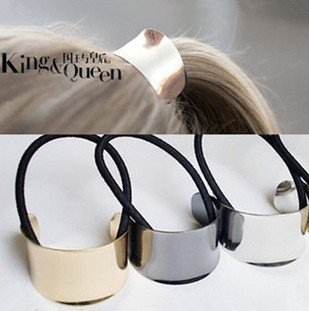 Min.order is $10(mix order)Free  Wholesale and Retail Metal Semi-circle Hairbands H106