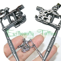 Professional Latest Design Silver Mini Tattoo Machine Gun Various Color Design