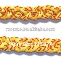 free shipping Braided fastpitch softball Stitch Titanium Necklace