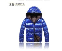 hot sale free shipping fashion candy color hooded men parkas  coats