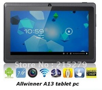 "7"" AllWinner A23 Q88 Android 4.2 OS 512M DDR 4GB Capacitive Screen tablet pc"