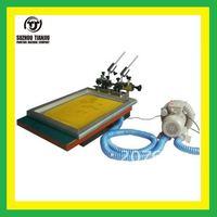 1 color table top  micro registration Vacuum Screen Printing Machine