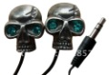 SB-EB182 metal cute skull crystal gift in-ear fashionable promotion mini stereo MP3/MP4 3.5mm/2.5mm earplug earbud earphone