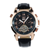 Cool! imported movement tourbillon multifunctional automatic self-wind watch men/ fashion rose gold swiss watch wholesale