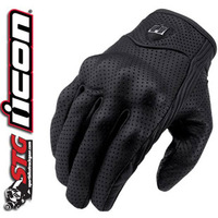 Icon invisible motorcycle gloves punch suede gloves super breathable function