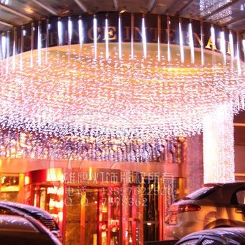Wedding dress decoration supplies decoration i garden lights meteor tube led lights festival lights