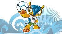 New model2014 football world cup mascot vinyl sticker(ss-1205)