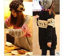 Женские толстовки и Кофты 2012 autumn and winter women plus size plus velvet thermal sports long trousers sweatshirt vest three pieces set DX-0046