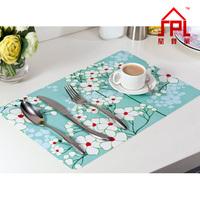 The creative fashion home Placemats/ Greenery Dandelion June flowers Plastic pvc placemat  Heat-resistant table mat Mats & Pads