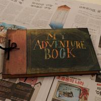 My adventure book scrapbooking  self adhesive photo albums  handmade photo album clipbook pixar up