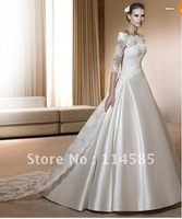 AA20-Free Shipping-Custom-All Color/Size-Handmade-Sexy-Brand New Fashion Elegant Bridal Fitted Wedding/Prom/ Evening Dress/Gown!