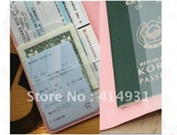 South Korea biscuit girlpassport holder Ticket book Passport sets 5pcs/lot