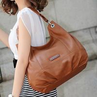 New arrival top quality free shipping 2012 Genuine leather ladies' vintage bag shoulder bag women's handbag cross-body