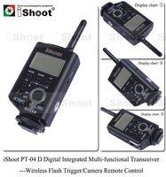 two-way communication Digital LCD Transceiver-Wireless Flash Trigger for Speedlite&Studio Strobe/Camera Remote Control