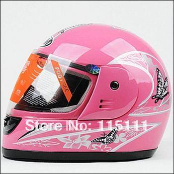 Winter Racing motorcycle full face helmet women,free shipping