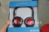 2012 New  Durable HI-FI Headphone Mp3+FM+as traditional stereo earphone Headphone,2colours can choose with retail box 1pcs/lot