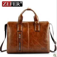 2013 male horizontal handbag commercial computer briefcase messenger bag man bag free shipping
