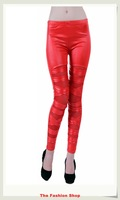 2013 New Fashion Ladies' Leggings Pants Free Size NA79019,Red