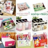 Creative receive desktop receive a case South Korea DIY lovely cosmetics store content box sorting box D144