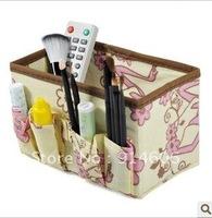 The dew woman flower cosmetics boxes/desktop receive box sundry sorting box B589