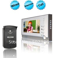 Wired 7 Inch Video Color Door Phone Handfree Intercom    EW-VDP662