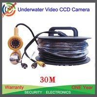 Waterproof 30M CCD Color Fishing Camera Underwater Video Camera CR-006