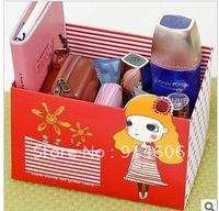 Japan and South Korea home fashion originality small pocket desktop receive a case DIY cute girl store content box D798