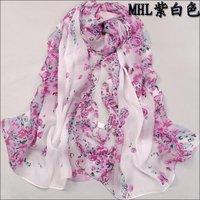 2012 NEWEST,160cmx50cm,ladies shawls scarf, can be MUSLIM HIJAB, flower print silk Drape patchwork scarf! Free shipping!
