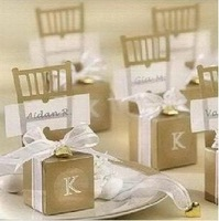 Free shipping High Quality Gold Chair Candy Box Wedding Favor Baby shower Party Candy Boxes,wedding souvenirs