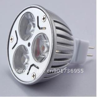 Free shipping! Wholesale - MR16 LED spotlight spot light lights high bay 12V 3W free shipping Sold by Sunking_China.LTD