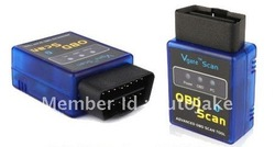 Works On Android Torque v2.1 2012 elm327 mini bluetooth ELM 327 Interface OBD2 / OBD II Auto Car Diagnostic Scanner OBDII(China (Mainland))
