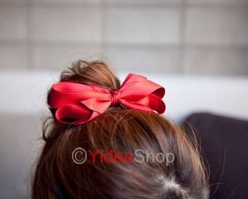 11pc Cute Red Bowknot Hair Pin Headband Hari Band Clip Hair Accessories 260984