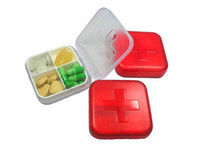 Gift carry mini storage kit red cross 4 kit pyxides 30g