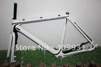 2013 Newest carbon cyclocross disc frame with inside cable routing BB86 ,DI2compatible ,fit to disc brake MC098