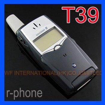 Refurbished Original Ericsson T39 Mobile Phone Bluetooth 2G Tri-band Unlocked Phone dark blue & One year warranty