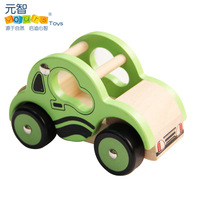 Wool artificial car model toy small car child wooden toy car