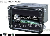 """cheap &perfect quality dvd player for VW and SKODA 8INCH ANS810 navi 8 """" BT ipod gps TV"""
